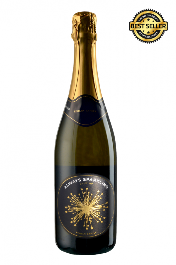 ecommerce photos of sparkling wine. South Australian Sparkling wine. Gold and black bottle.